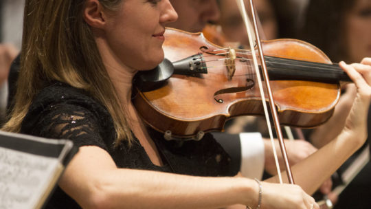 Sarah Oates: the orchestra feels really safe if they can trust the concertmaster