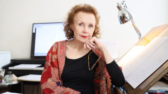 Kaija Saariaho: 'Composing requires patience, but it is a magical thing and a great privilege'